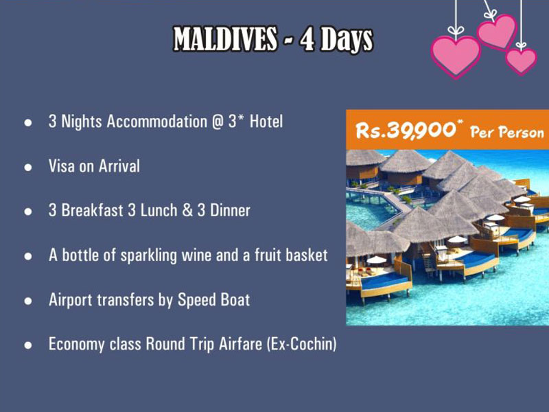 Honeymoon Tour Packages From Coimbatore Price Details List