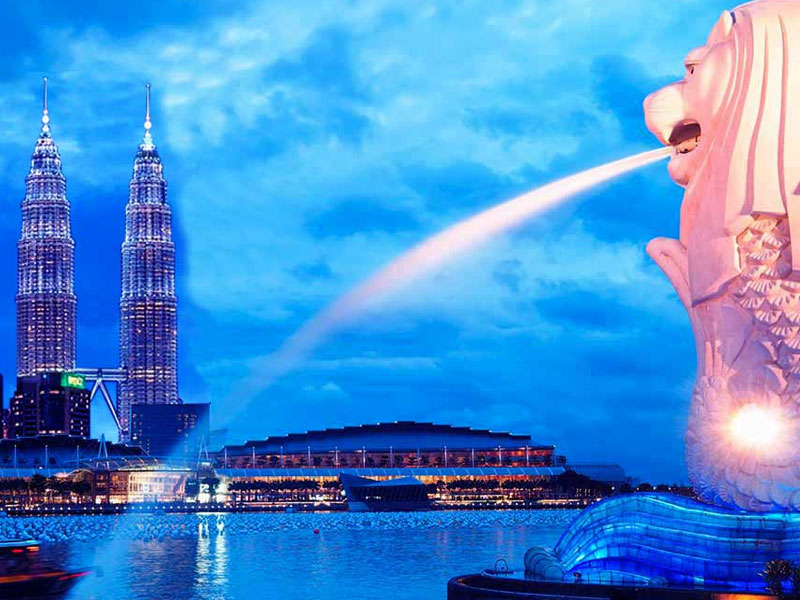 Singapore Malaysia tour package from coimbatore